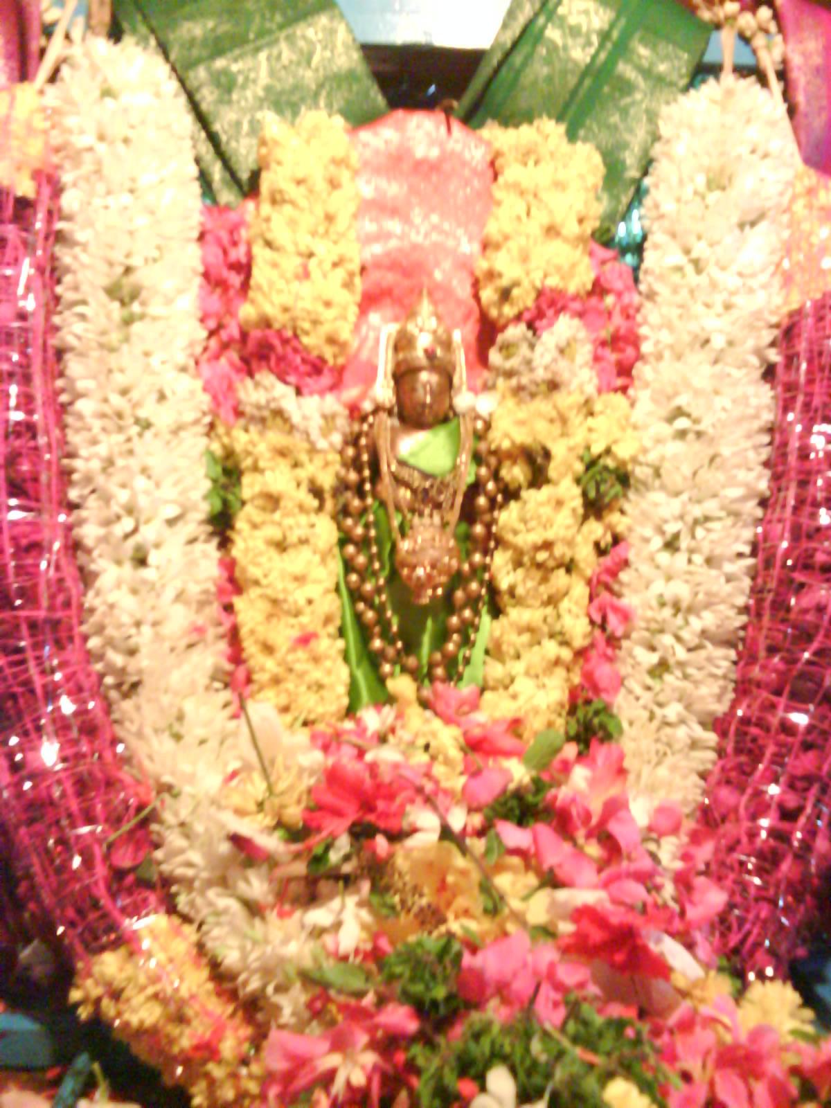 Deity at Pushpa Pallakku