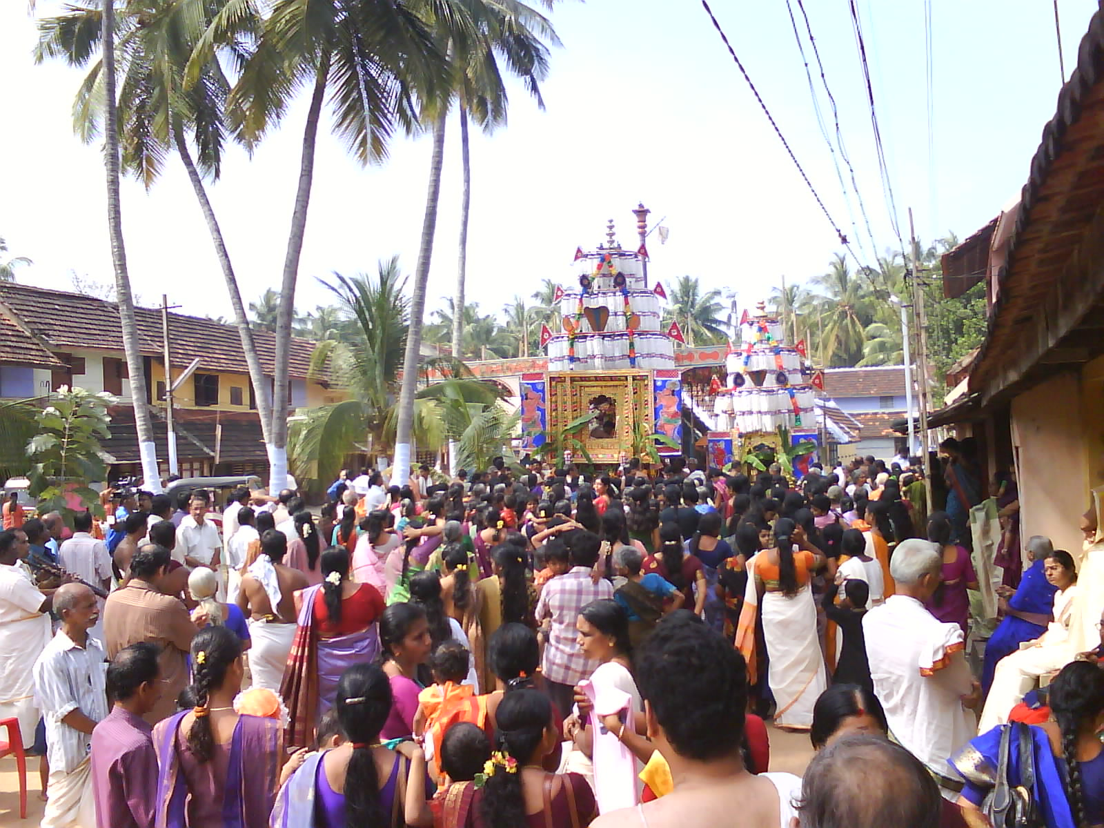 Chariot procession