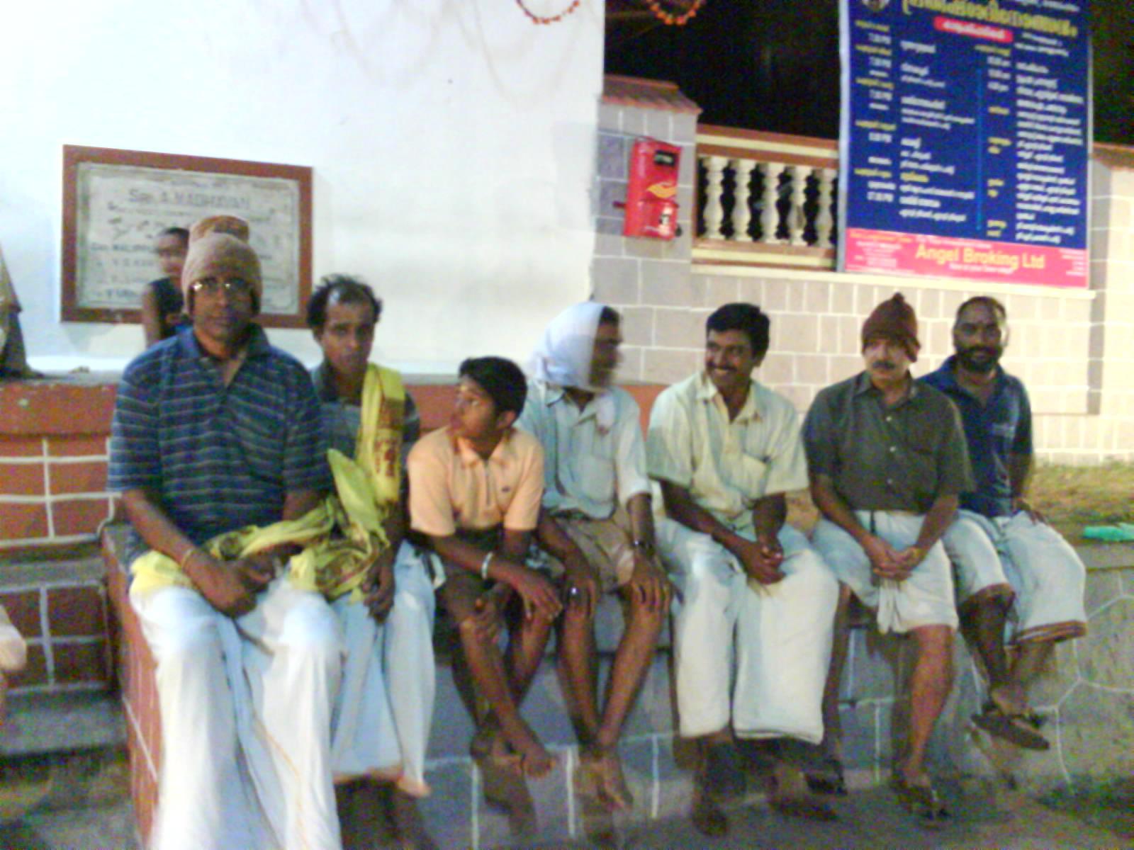 Brigades accompanying Pushpapallakku
